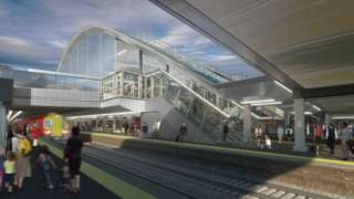 How Gatwick's new station will look after it has been redeveloped