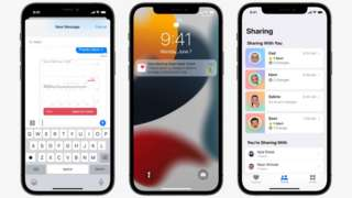 Apple phones with new features