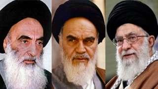 خامنہ ای، خمینی اور سیستانی