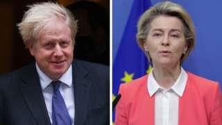 Boris Johnson e Ursula von der Leyen anunciaram acordo pós-Brexit