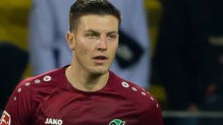 Kevin Wimmer in action for Hannover