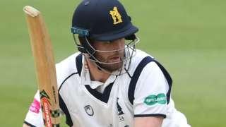 Warwickshire batsman Dom Sibley