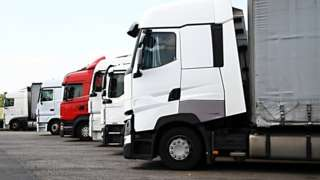lorry - stock photo