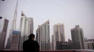 A view of the Dubai skyline