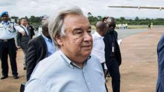 UN Secretary General Antonio Guterres