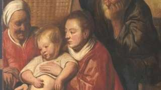The newly-discovered painting by Jacques Jordaens