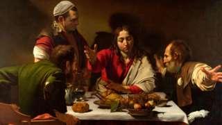 'A Ceia em Emaús', de Caravaggio