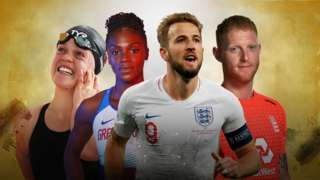 Ellie Simmonds, Dina Asher-Smith, Harry Kane and Ben Stokes