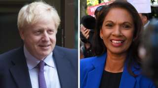 Boris Johnson, Gina Miller