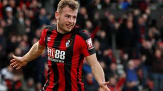 Ryan Fraser scores for Bournemouth against Southampton