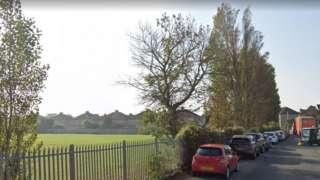 Sunnyside Road in Weston-super-Mare, Somerset