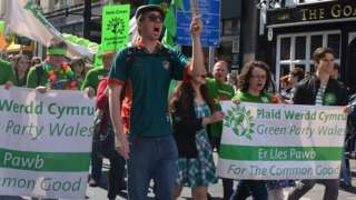 Green Party march