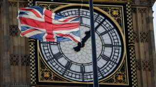Flag and Big Ben