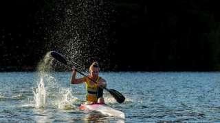 Jo Brigden-Jones 6 Ağustos günü 500 metre kano yarışına katılacak