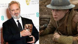 Sir Sam Mendes and George MacKay