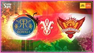 Rajasthan Royals v Sunrisers Hyderabad
