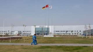 VW plant in Urumqi
