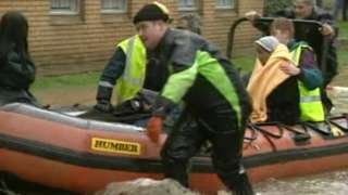 Northampton Floods Easter 1998