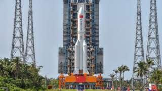Tên lửa Trường Thiên 5B của Trung Quốc