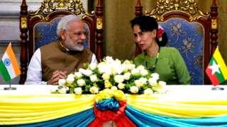 म्यांमार भारत के क़रीब आ रहा है या अब भी चीन के ज़्यादा नज़दीक है?