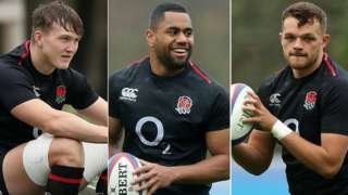 Ted Hill, Joe Cokanasiga, Zach Mercer