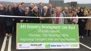 A45 link road opens