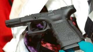 Glasgow gang gun crime