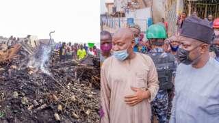 Agodi Gate fire