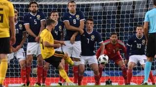 Scotland v Belgium