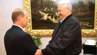 Владимир Путин и Борис Ельцин, 16 августа 1999 года