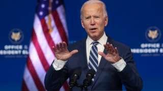 Joe Biden, 10 November 2020