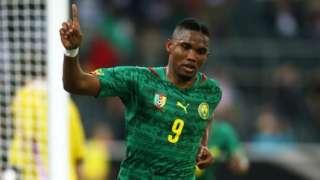 Cameroon's Eto'o