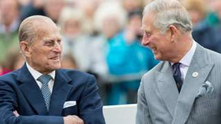 The Prince of Wales and Prince Charles in 2016