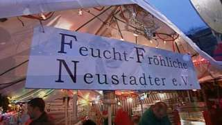 FFN Neustadt stall at a previous market