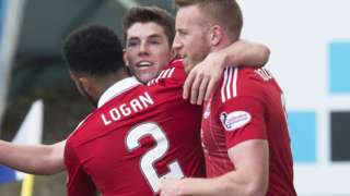 Ryan Christie shot Aberdeen ahead in Perth