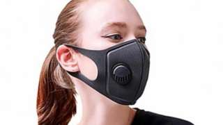 An advert for facemasks on cnn.com