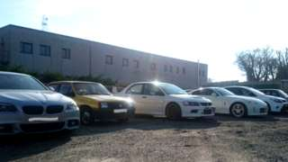 Cars seized