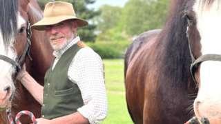 Jamie Alcock and horses