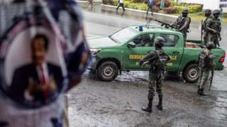 Cameroon goment forces