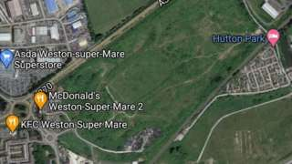 Former landfill site Weston-super-Mare