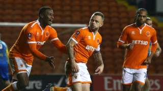 Blackpool's Jay Spearing