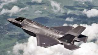 F35 Lightning II fighter jet