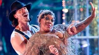 Graziano Di Prima and Judi Love on Strictly Come Dancing
