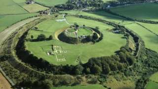 The site of Old Sarum
