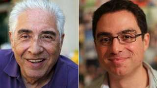 Iranian-American businessman Siamak Namazi (right) and his 81-year-old father Baquer (left)