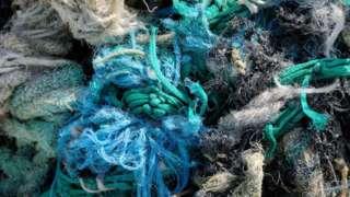 Cordas de plástico
