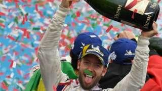 Formula E driver Sam Bird