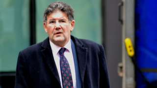 David Noakes outside Southwark Crown Court