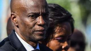 Presidente de Haití, Jovenel Moïse