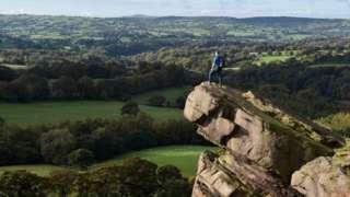 Peak in Cheshire, October 2020